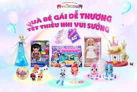 Album sản phẩm đồ chơi dành cho bé gái với mức ưu đãi lến đến 40 ...