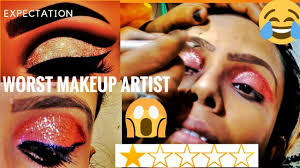 worst reviewed makeup artist in india