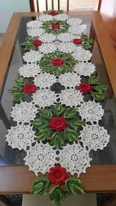 10 modelos centro de mesas en crochet