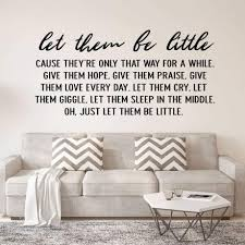 Childrens Wall Decal Quote Let Vinyl Decor Wall Decal Customvinyldecor Com
