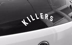Medium Arched Killers Sticker Killers Apparel