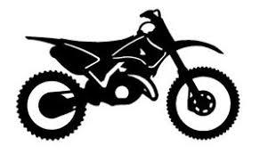 Die Cut Vinyl Decal Dirt Bike Motocross Sport Racing 20 Colors Car Truck 365 Ebay