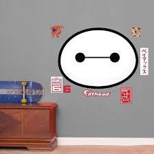 Big Hero 6 Baymax Face Fathead Jr Wall Decal Allposters Com