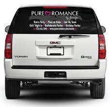 Pure Romance Rear Window Decal List Pure Romance