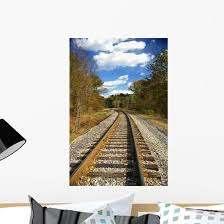 Historic Reading Railroad Tracks Wall Decal Wallmonkeys Com