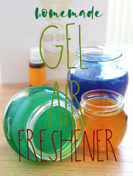 gel air freshener to make at home with