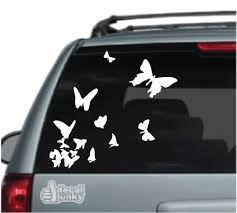 Butterfly Car Decals Stickers Decal Junky
