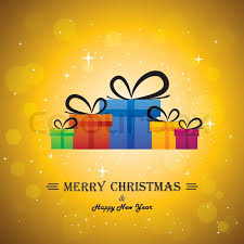 merry christmas happy new year stock vector colourbox
