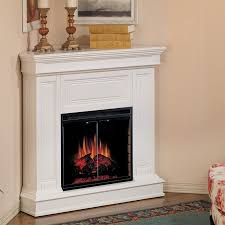 small room corner electric fireplace