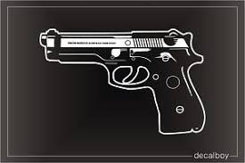 Pistol Decals Stickers Decalboy