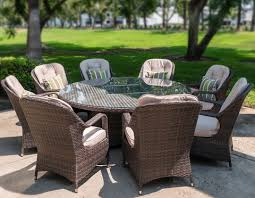 marble bbq gas fire pit dining table