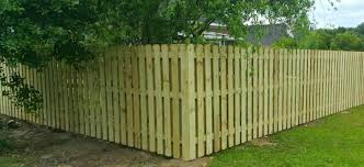 Pine Shadow Box Dog Ear Pressure Treated Wood Fence Panel Size 6 Ft X 8 Ft Chatham Property Maintenance