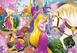 disney princess tangled 24 piezas