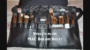 makeup artist brush belt mac saubhaya
