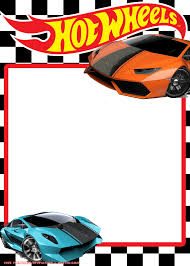 Free Hot Wheels Lamborghini Invitation Templates Aniversario Hot