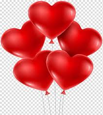heart shape valentine s day balloon