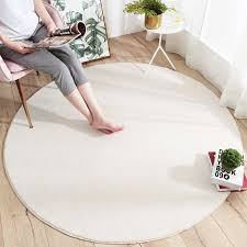 Lamb Wool Round Rug Carpets For Living Room Decor Rugs Kids Room Long Plush Rugs For Bedroom Shaggy Area Rug Modern Mats Mat Aliexpress