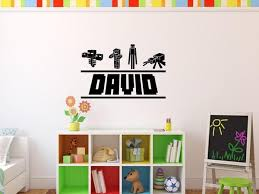 Minecraft Mob Personalized Vinyl Wall Decal For Gamers Decals By Droids