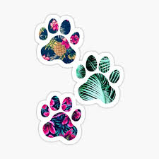 Paw Stickers Redbubble