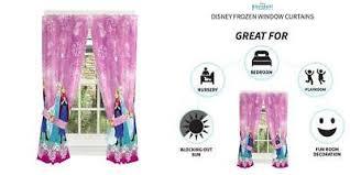 Franco Kids Room Window Curtain Panels 82 X 63 Disney Frozen Dark Purple 7445002293242 Ebay