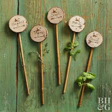diy plant markers better homes gardens