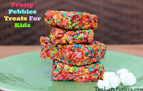 fruity pebbles treats for kids