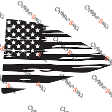 5th Gen Camaro Quarter Window American Flags Camaro Swag