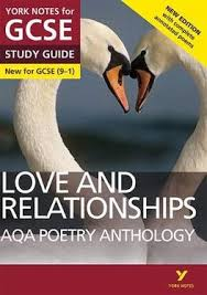 aqa poetry anthology love and
