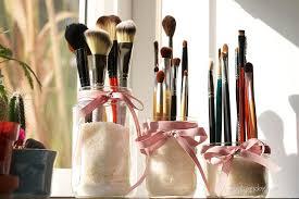 diy makeup organization and storage ideas