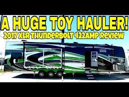 big toy hauler 2017 xlr thunderbolt