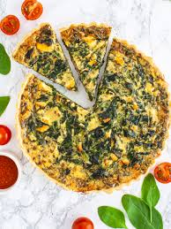 Dairy Free Salmon and Spinach Quiche ...