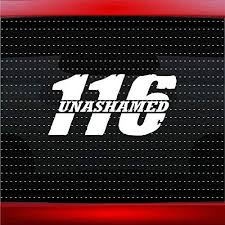 Amazon Com Noizy Graphics Unashamed 2 Romans 116 Christian Car Sticker Truck Window Vinyl Decal Color Red Automotive