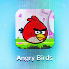 Angry Birds Icon App On The IPad 3. Angry Birds Is A Successful ...