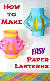 How To Make Easy Paper Lanterns Japan Inner Child Fun