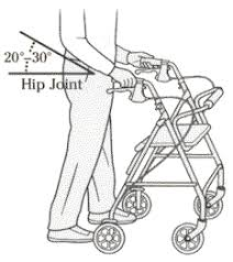 how to mere for rollator rollator