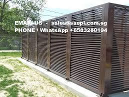 Horizontal Aluminum Fence Panels
