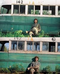 The real Christopher McCandless and actor Emile Hirsch from the ...