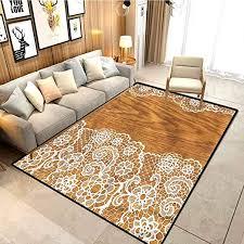 Amazon Com Vintage Kids Room Home Decor Carpet Lace Wooden Retro Room Carpets Suitable For Children Bedroom Home W5xl7 Feet Kitchen Dining