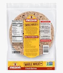 mission whole wheat tortilla chia hd