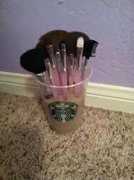 diy makeup brush holder just take you