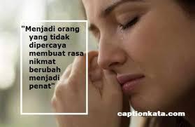 √ kata kata sedih kehidupan menghadapi cobaan hidup