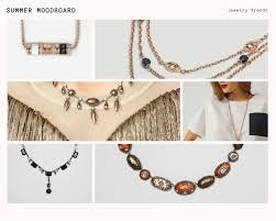 summer jewelry trends 2019 necklace