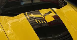 C7 Corvette Stingray Z06 Grand Sport 2014 Jake Skull Stinger Stripe Hood Decal Cut Out Modern Gen Auto