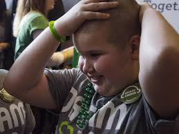 Going bald for a cause | Photo Galleries | poststar.com