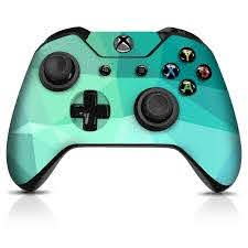 Xbox One Controller Skin Teal Poly Controller Gear