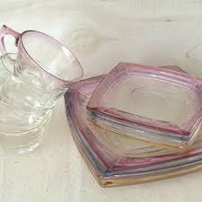 glass snack sets on wanelo