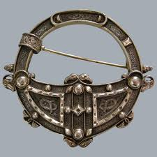 an irish celtic revival sterling silver