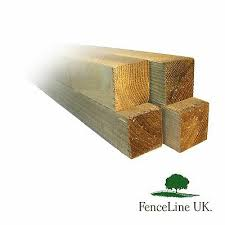 75mmx75mm Timber Fence Post 3x3 Treated Timber Post 2 4m 3 0m Free Delivery Railings Pickets Decking Fencing