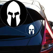 Spartan Decal Sticker For Car Window Laptop And More 949 Yoonek Graphics