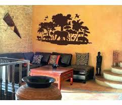 Jungle Exotic Tribal Wall Decal Sticker Mural Vinyl Wall Art